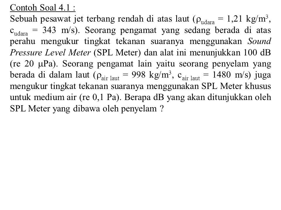 Contoh Soal 4.1 :