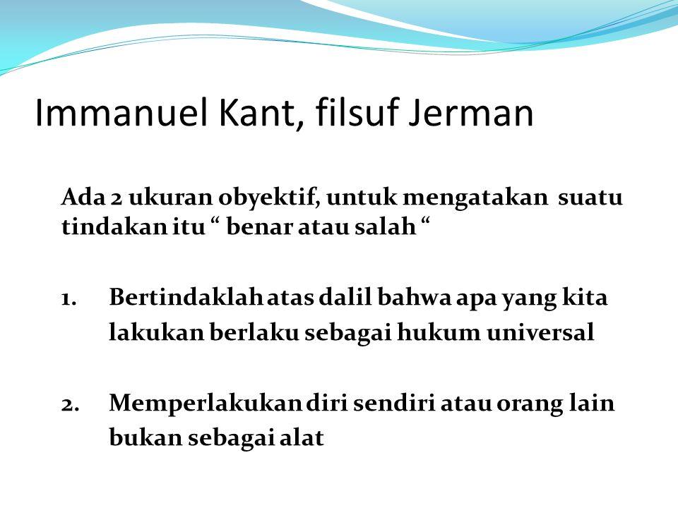 Immanuel Kant, filsuf Jerman