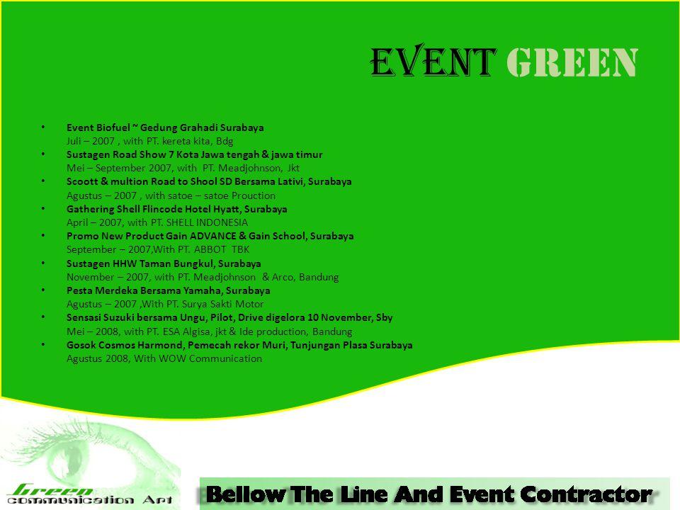 Event GREEN Event Biofuel ~ Gedung Grahadi Surabaya