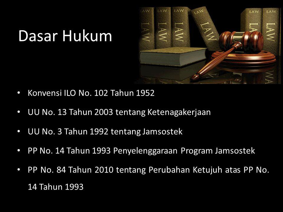 Dasar Hukum Konvensi ILO No. 102 Tahun 1952