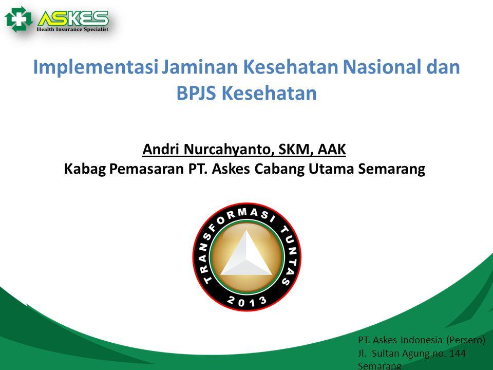 Implementasi Jaminan Kesehatan Nasional dan BPJS Kesehatan