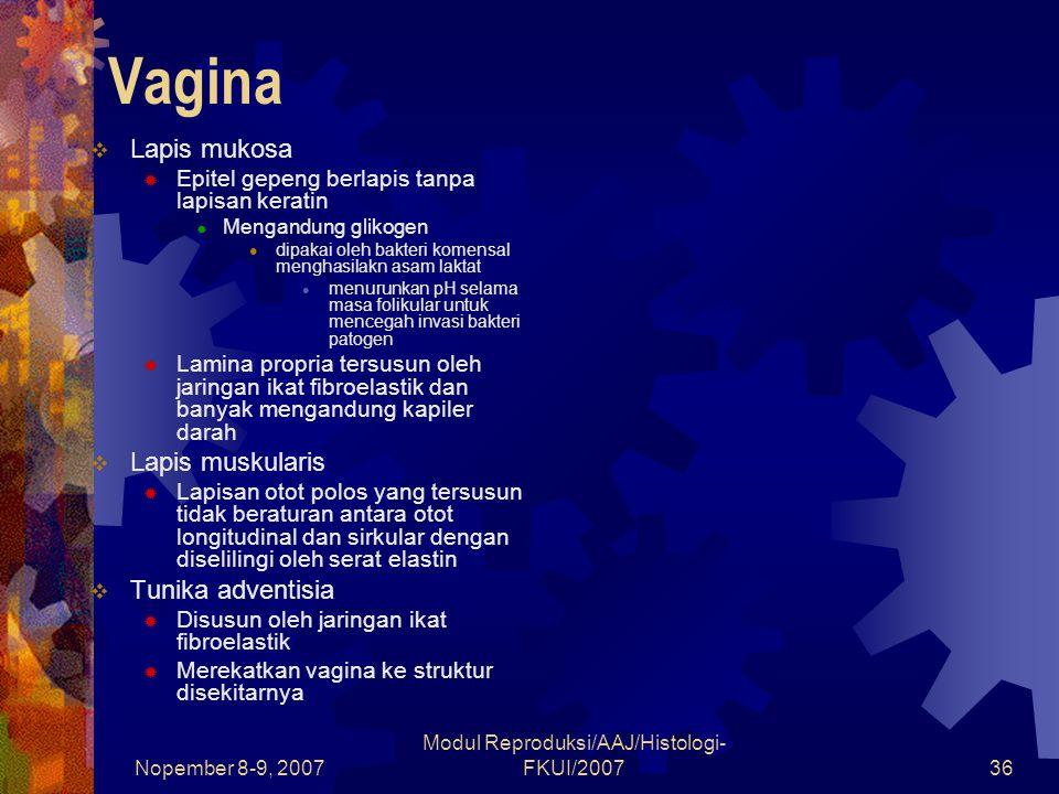 Modul Reproduksi/AAJ/Histologi-FKUI/2007
