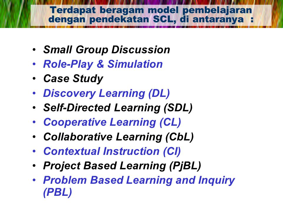 Small Group Discussion Role-Play & Simulation Case Study
