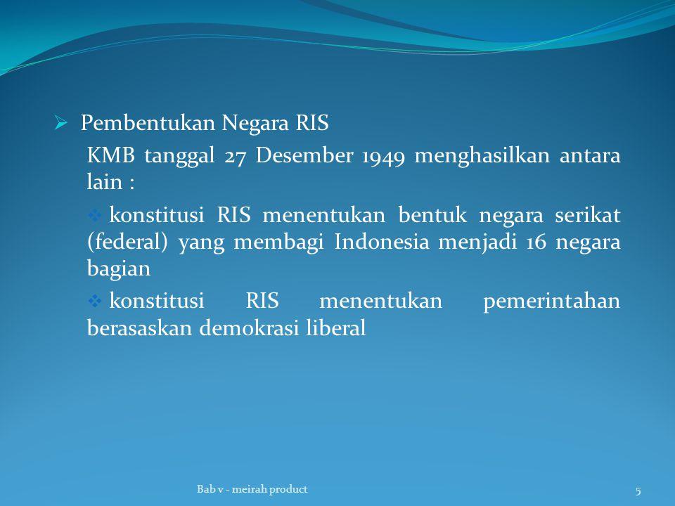 Pembentukan Negara RIS