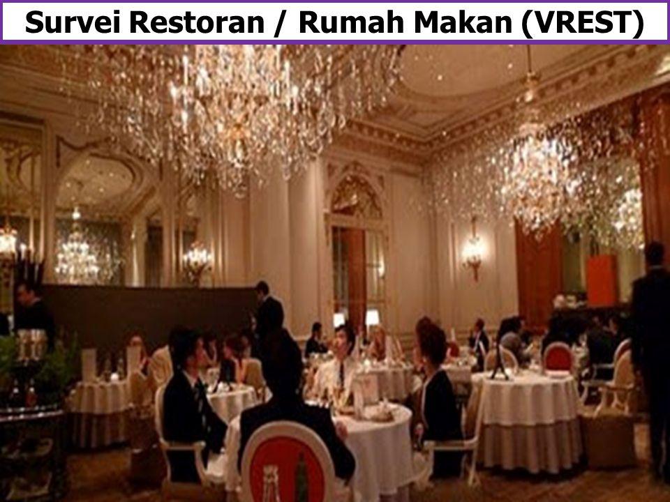 Survei Restoran / Rumah Makan (VREST)