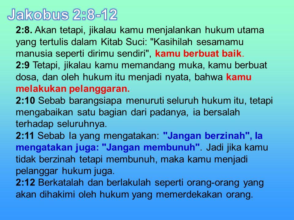 Jakobus 2:8-12