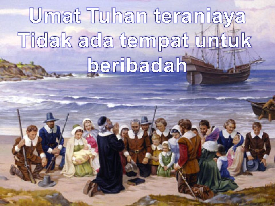 Umat Tuhan teraniaya Tidak ada tempat untuk beribadah