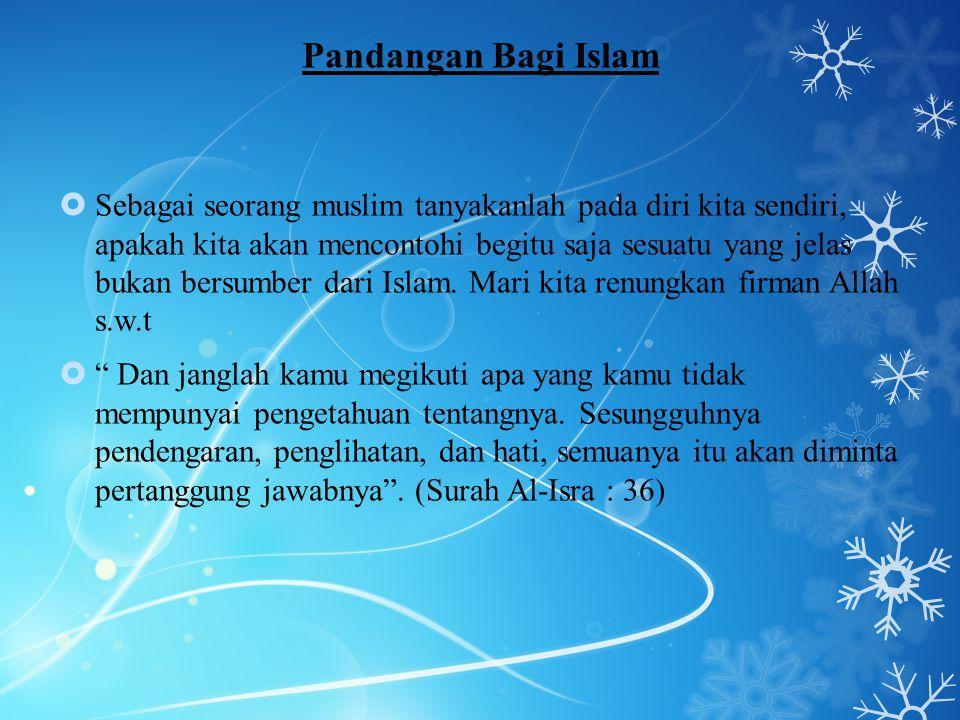 Pandangan Bagi Islam