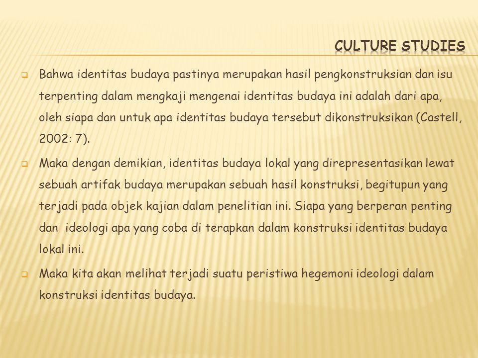 CULTURE STUDIES