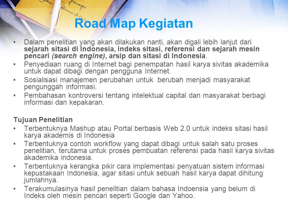 Road Map Kegiatan
