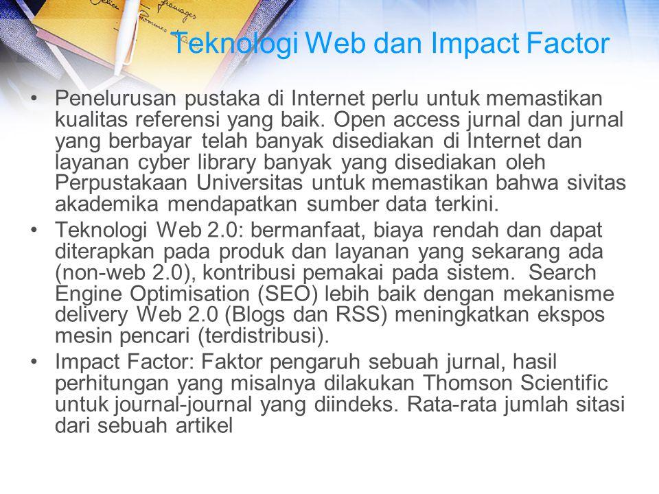 Teknologi Web dan Impact Factor