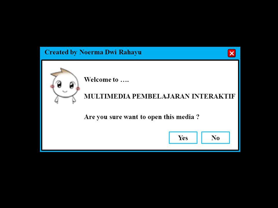 Selamat datang di Multimedia Pembelajaran Interaktif