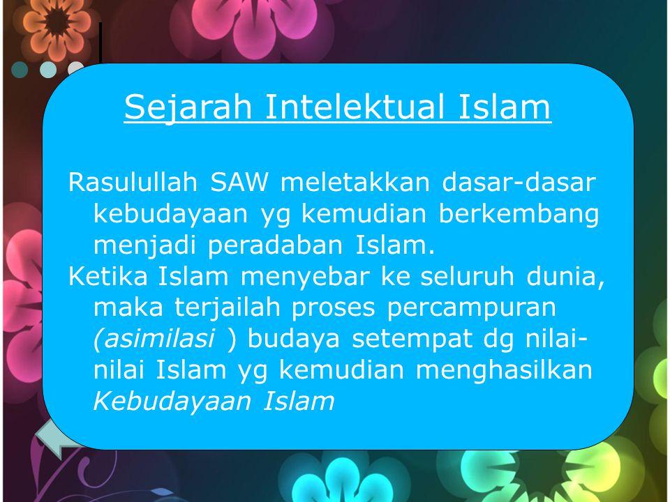 Sejarah Intelektual Islam