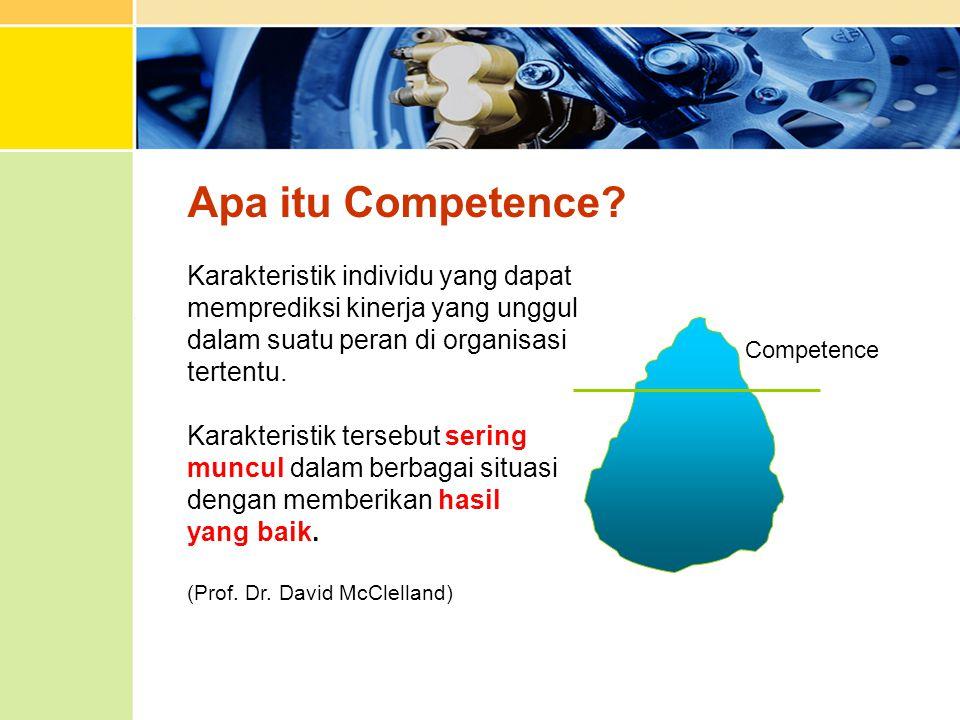 Apa itu Competence Karakteristik individu yang dapat