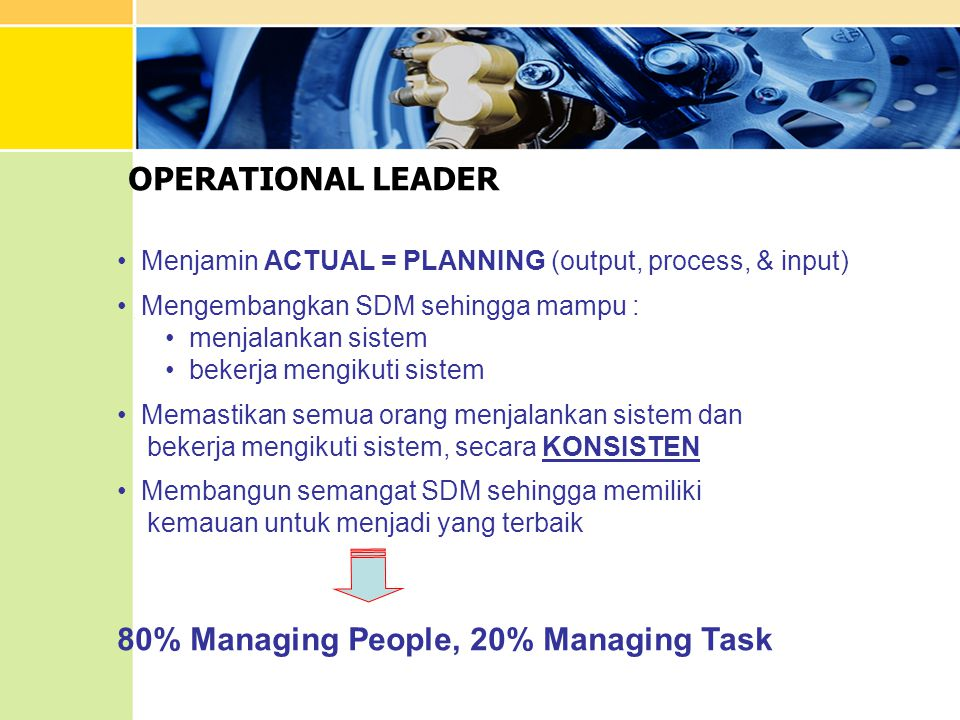 80% Managing People, 20% Managing Task