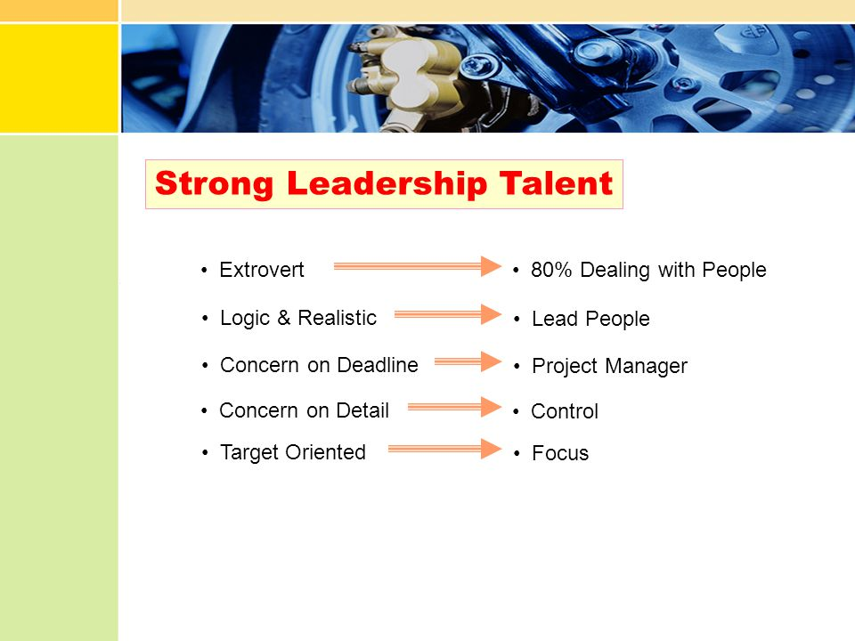Strong Leadership Talent