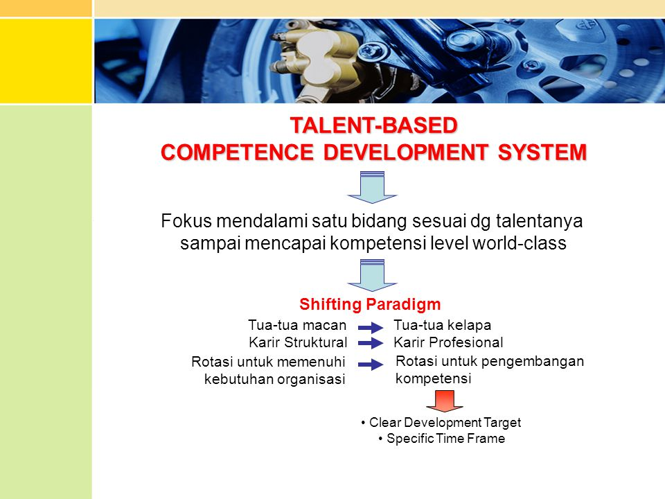 COMPETENCE DEVELOPMENT SYSTEM