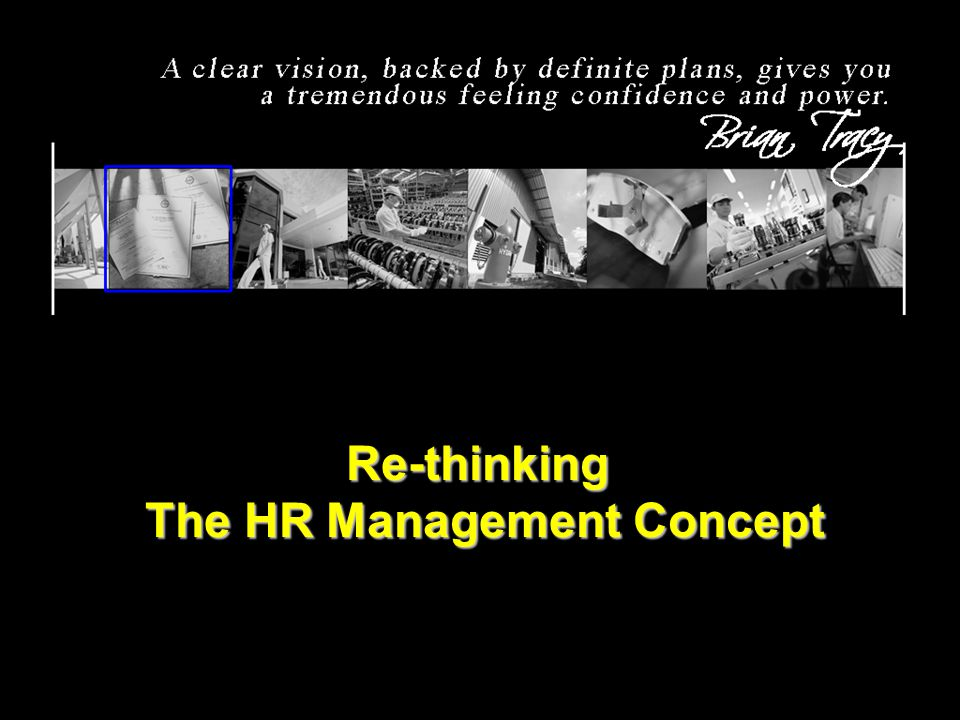 The HR Management Concept