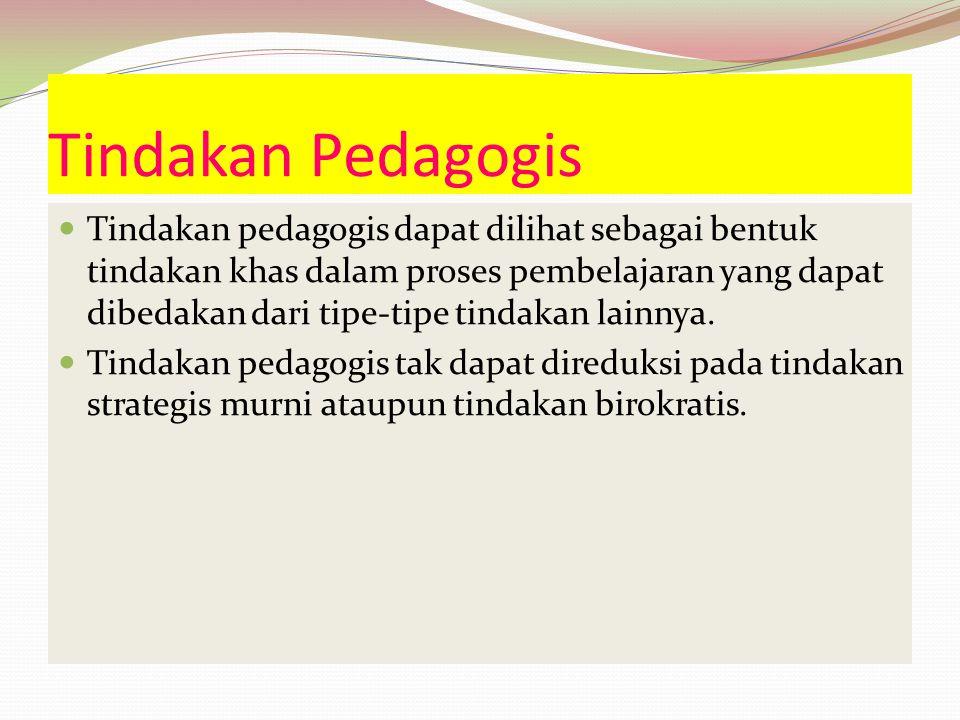 Tindakan Pedagogis