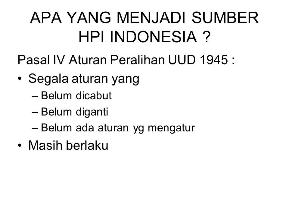 APA YANG MENJADI SUMBER HPI INDONESIA