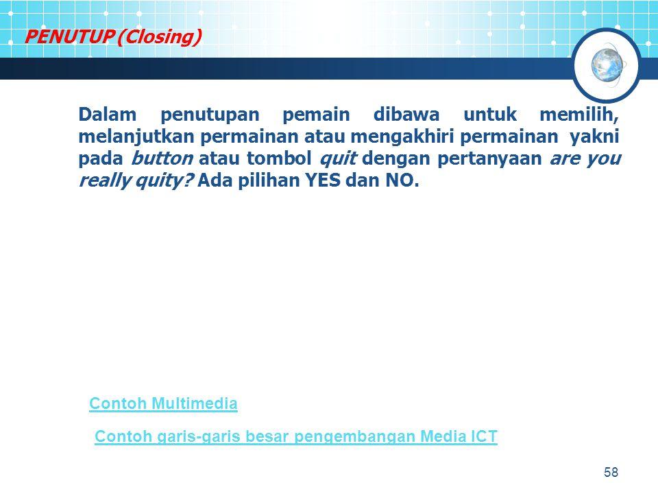 PENUTUP (Closing)