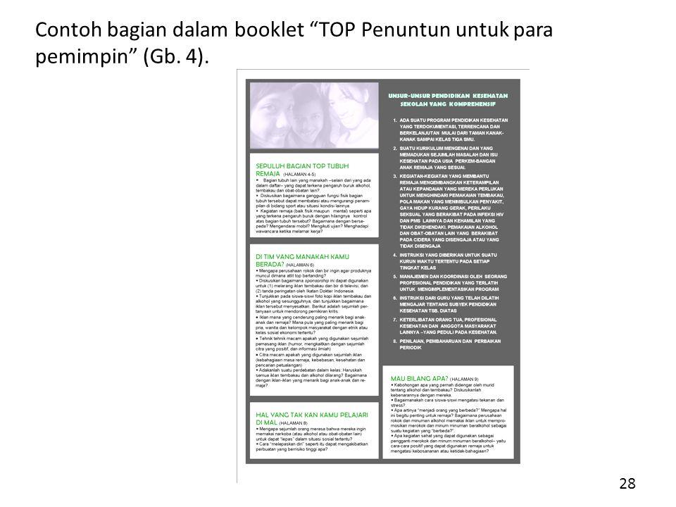 Contoh bagian dalam booklet TOP Penuntun untuk para pemimpin (Gb. 4).