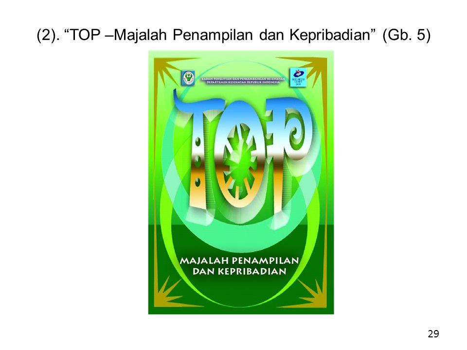 (2). TOP –Majalah Penampilan dan Kepribadian (Gb. 5) .