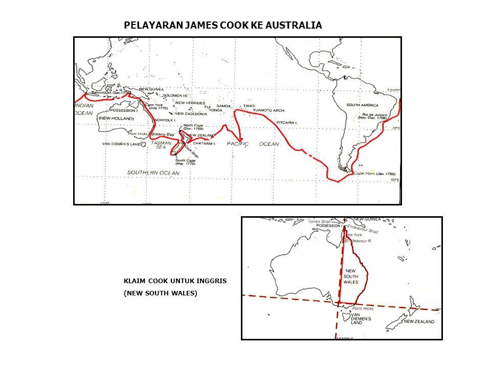 PELAYARAN JAMES COOK KE AUSTRALIA