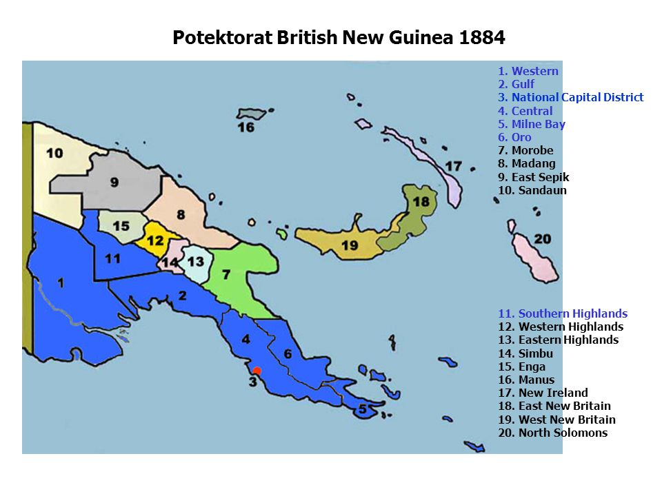 Potektorat British New Guinea 1884