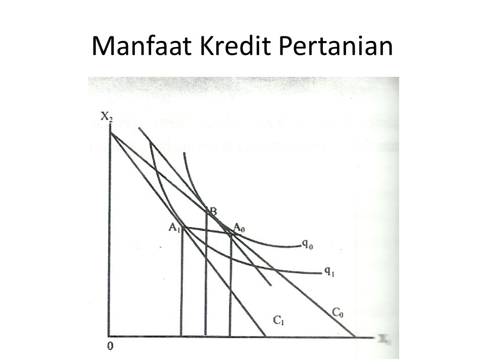 Manfaat Kredit Pertanian