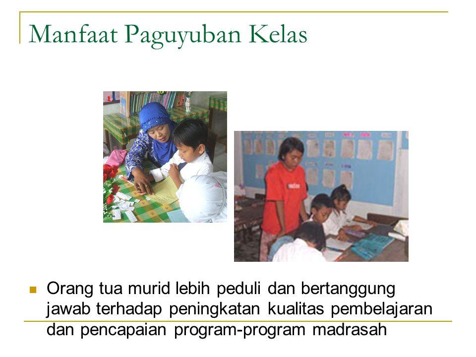 Manfaat Paguyuban Kelas
