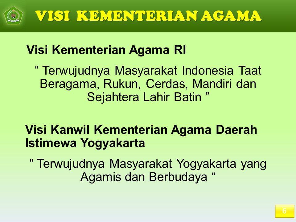 Terwujudnya Masyarakat Yogyakarta yang Agamis dan Berbudaya