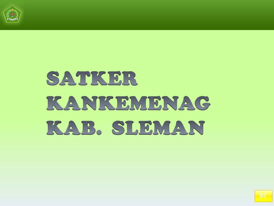 SATKER KANKEMENAG KAB. SLEMAN 97