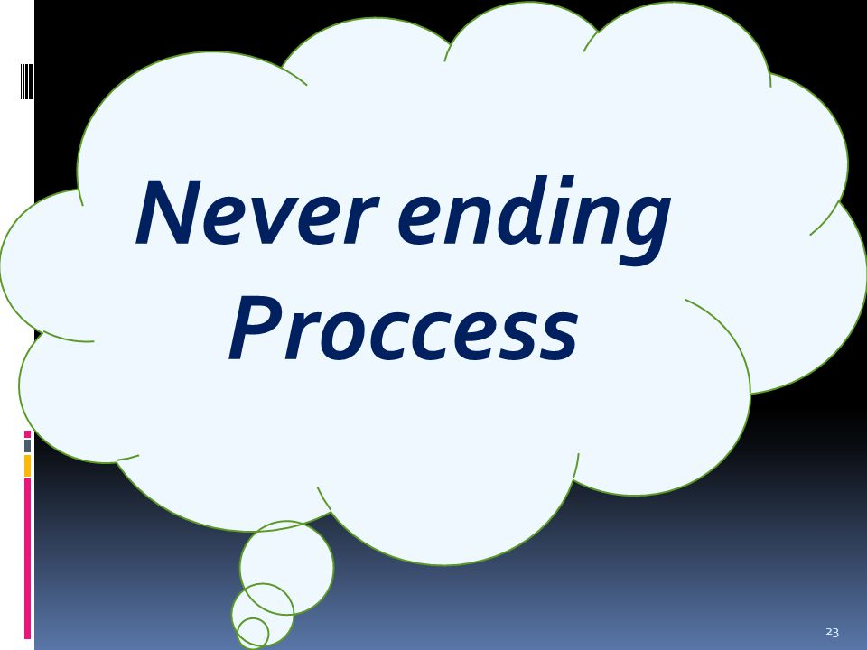 Never ending Proccess