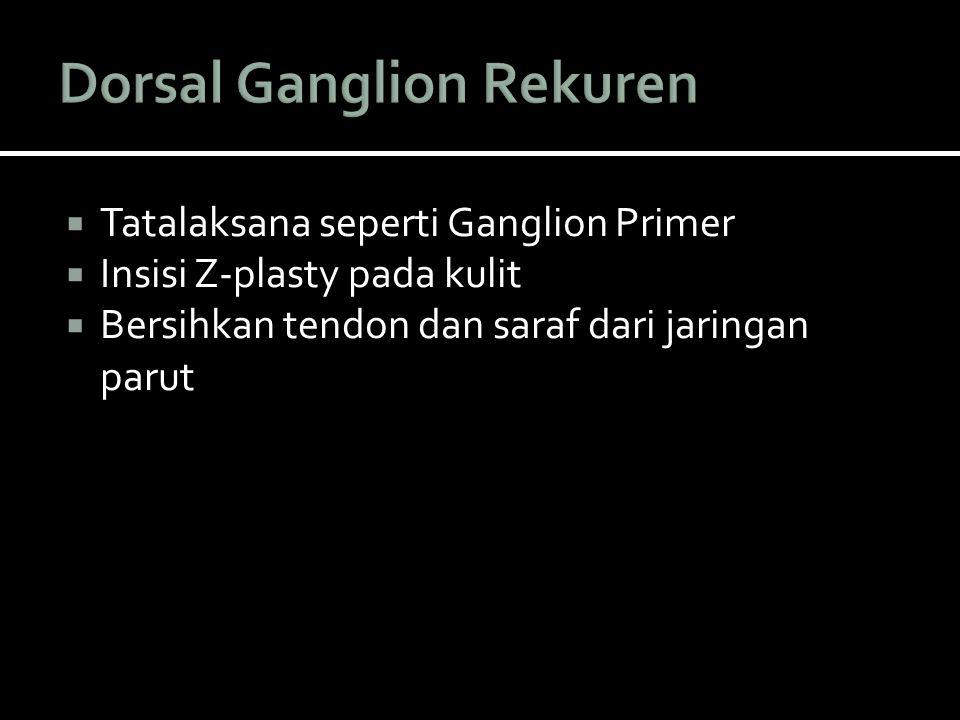 Dorsal Ganglion Rekuren