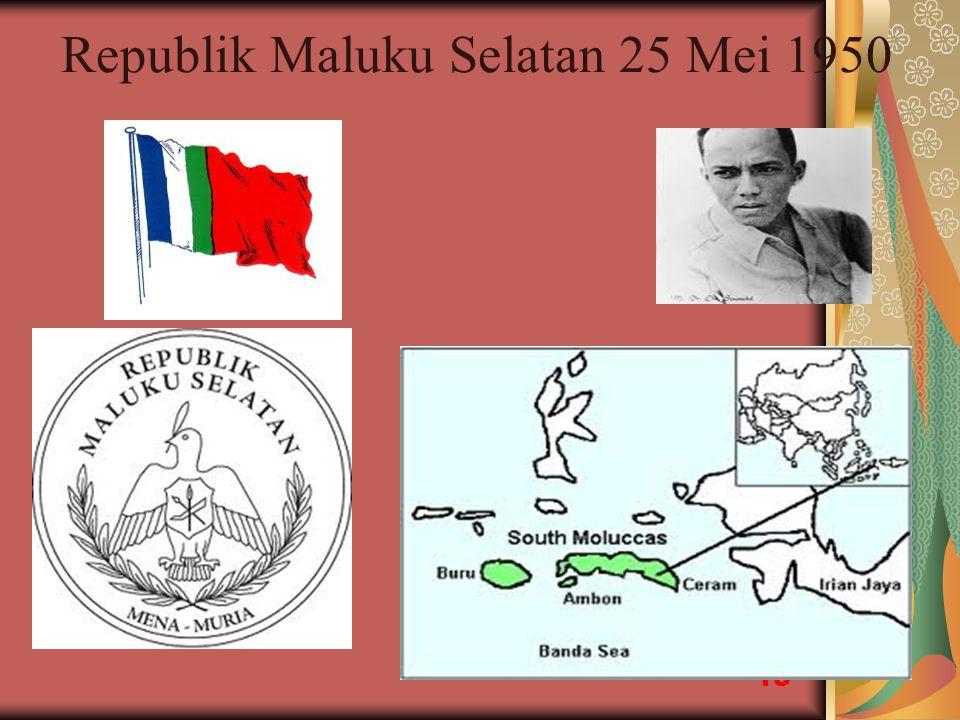 Republik Maluku Selatan 25 Mei 1950