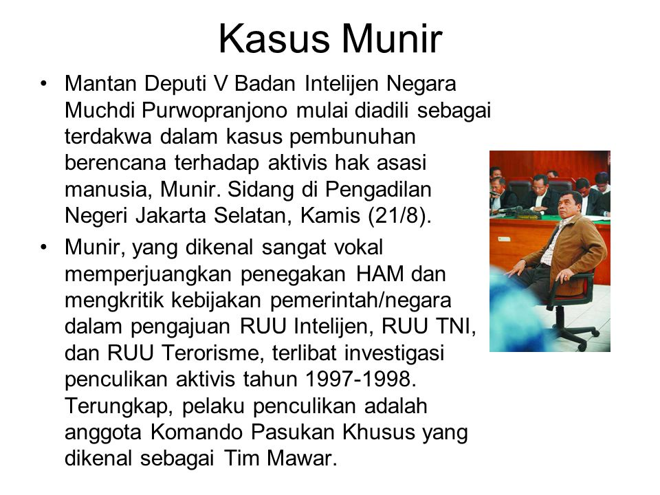 Kasus Munir