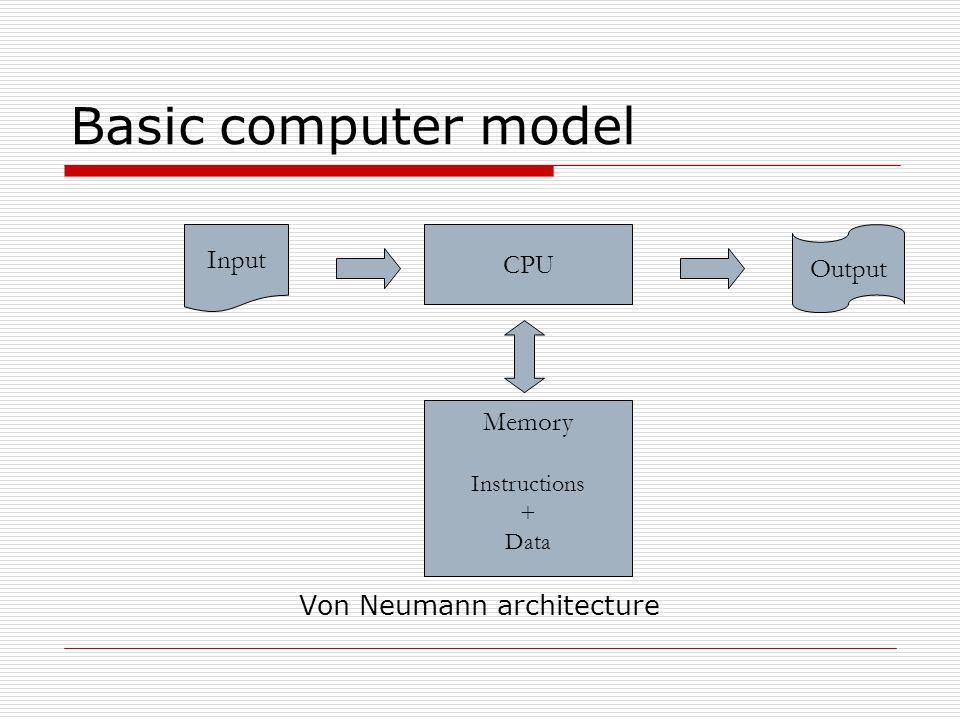 Von Neumann architecture