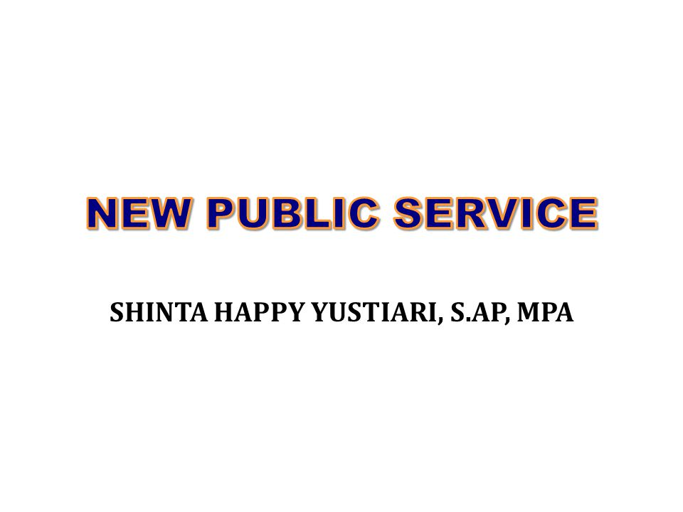 SHINTA HAPPY YUSTIARI, S.AP, MPA