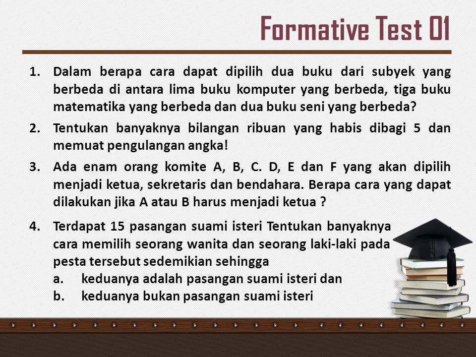 Formative Test 01