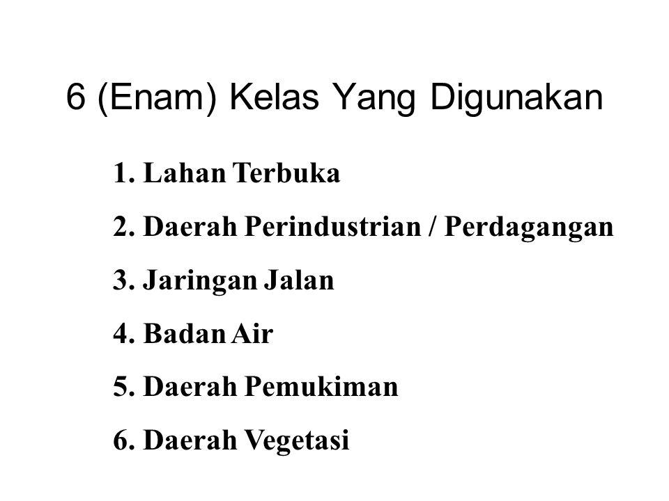 6 (Enam) Kelas Yang Digunakan