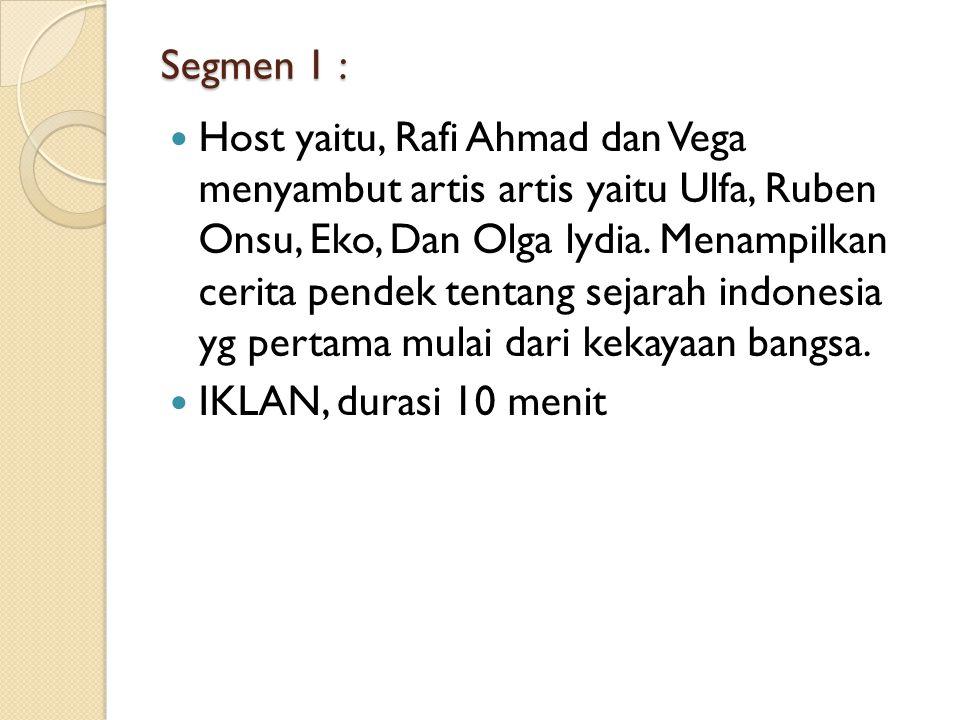 Segmen 1 :