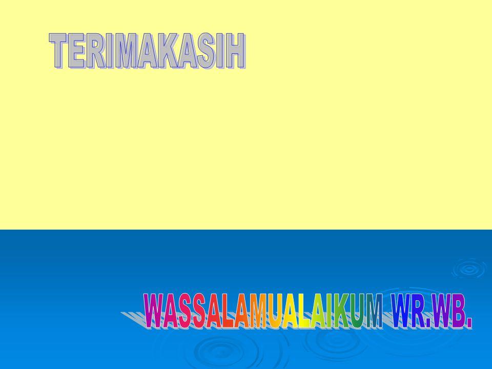 WASSALAMUALAIKUM WR.WB.