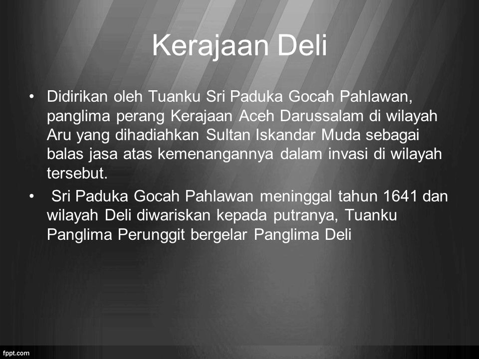 Kerajaan Deli