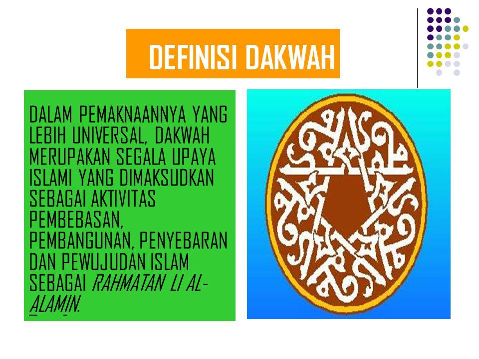 DEFINISI DAKWAH