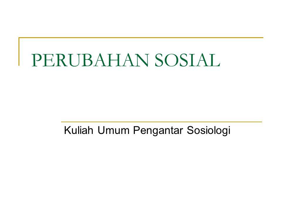 Kuliah Umum Pengantar Sosiologi