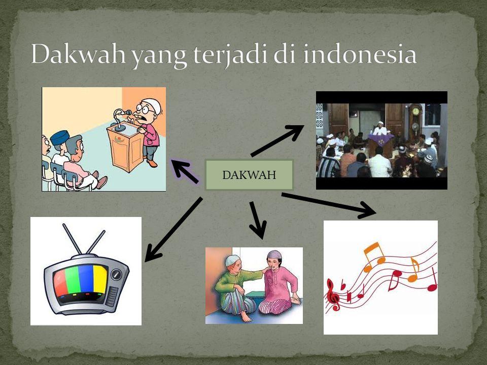 Dakwah yang terjadi di indonesia