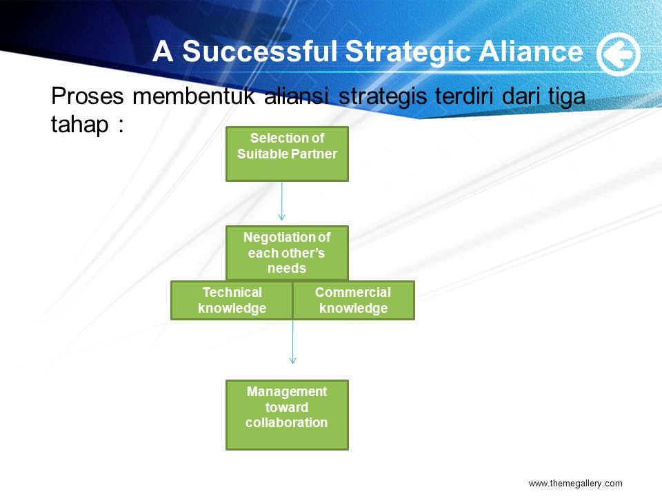 A Successful Strategic Aliance