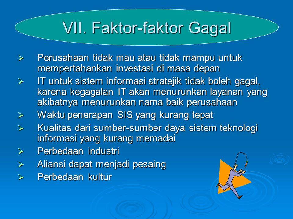 VII. Faktor-faktor Gagal