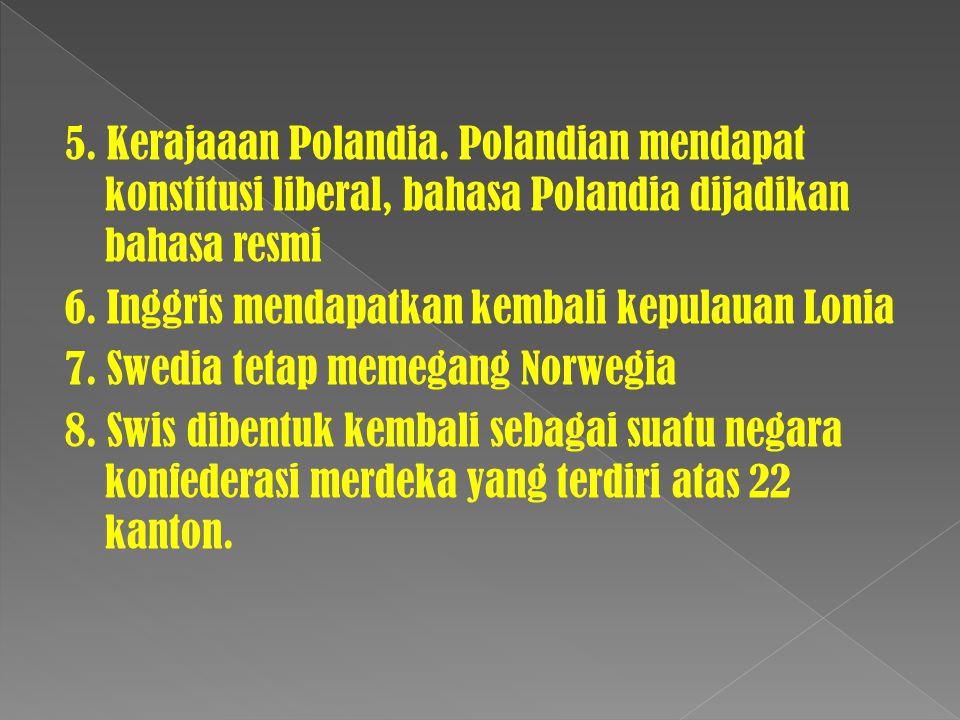 5. Kerajaaan Polandia.